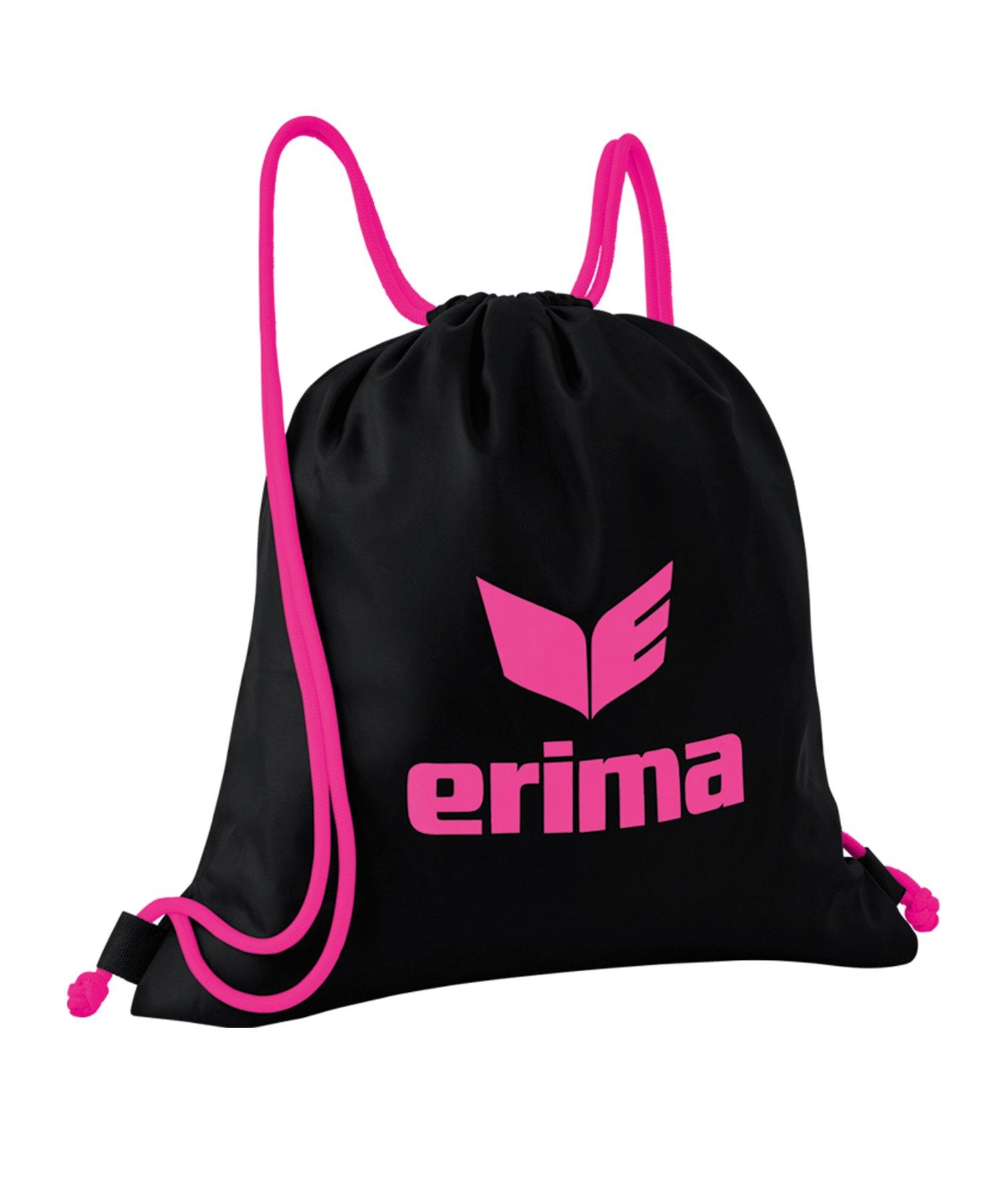 Erima Turnbeutel Pro Schwarz Pink - schwarz