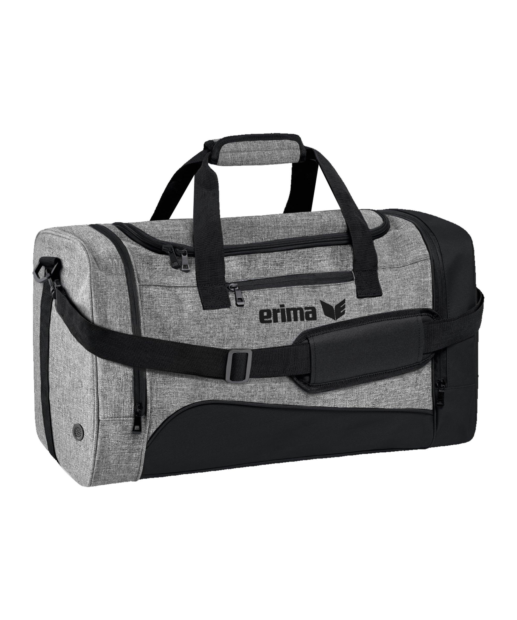 Erima Club 1900 Tasche Gr. L Schwarz Grau - grau