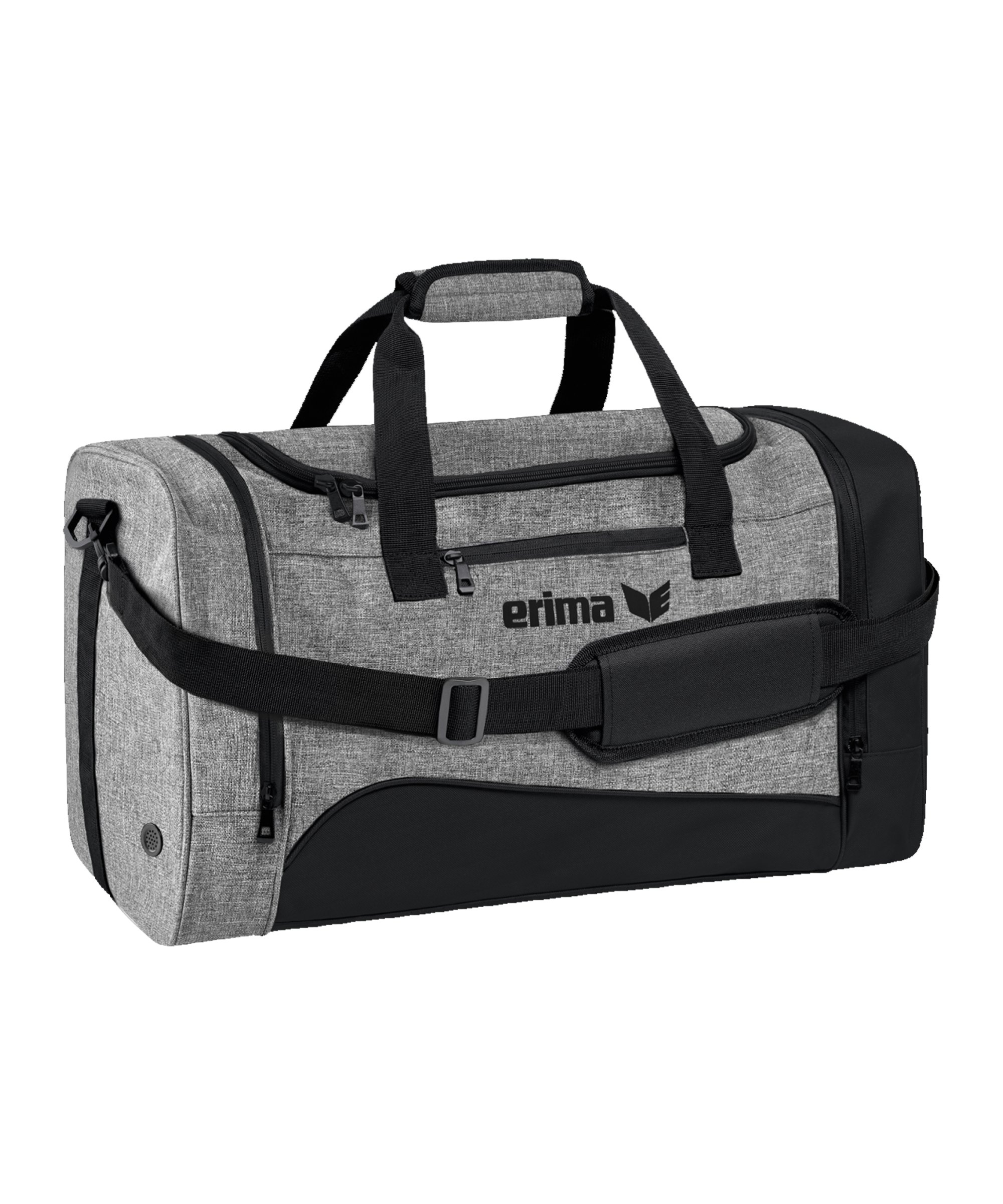 Erima Club 1900 Tasche Gr. M Schwarz Grau - schwarz