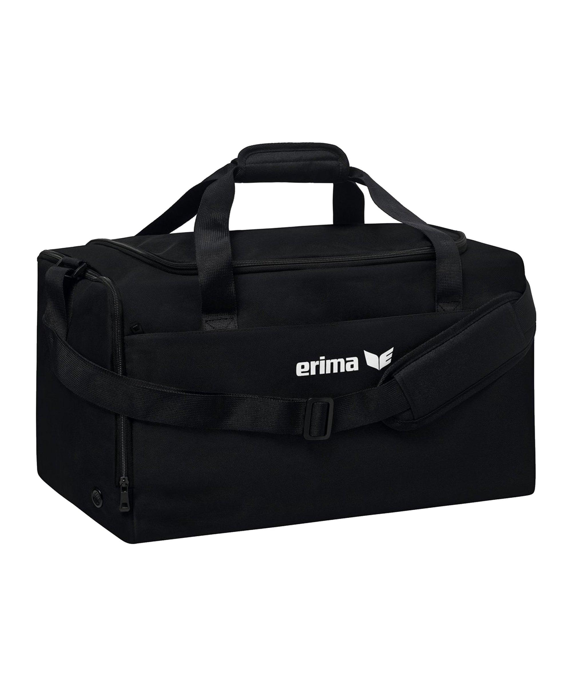 Erima TEAM Sporttasche Gr. S F950 Schwarz - schwarz