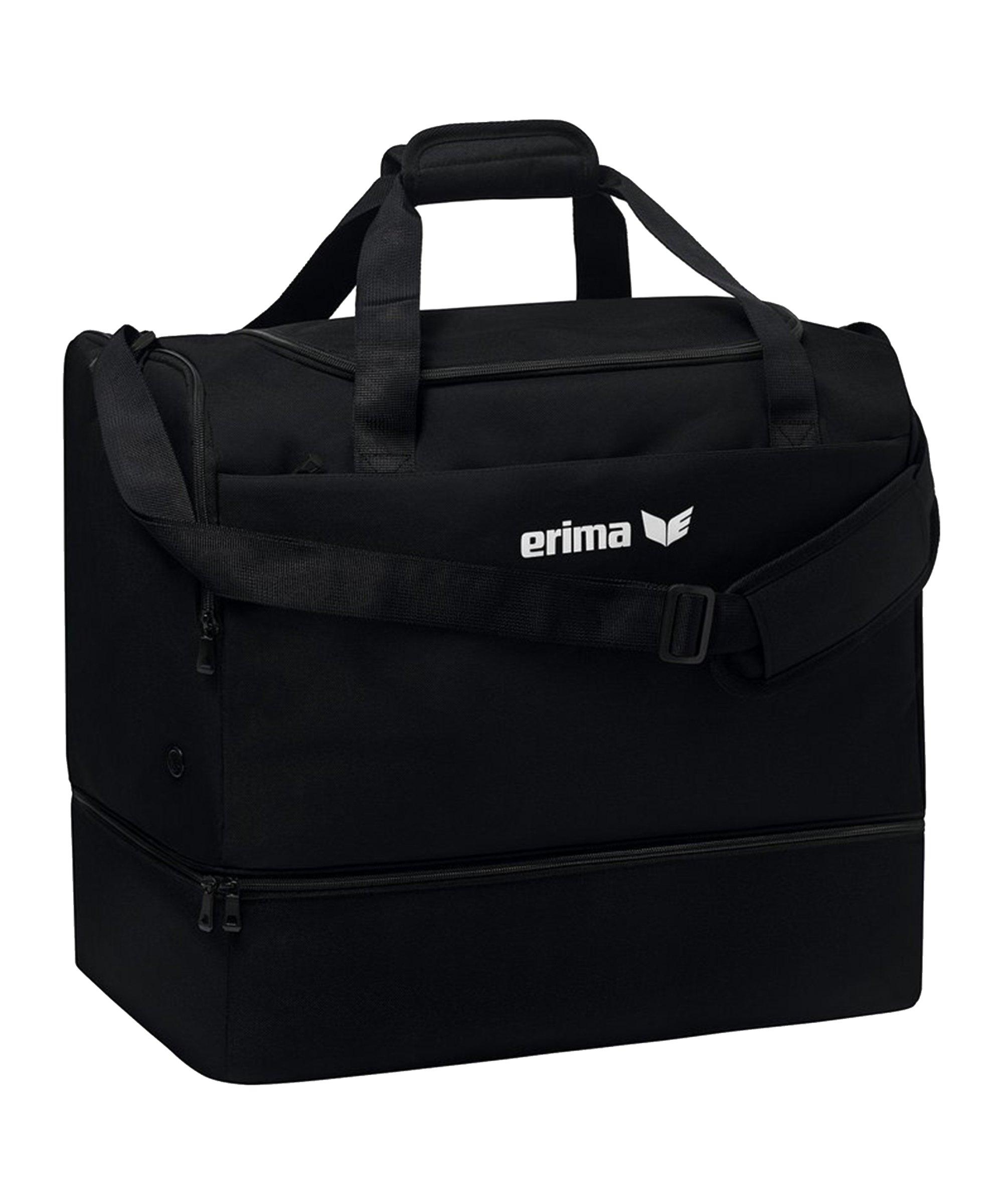 Erima TEAM Sporttasche Gr.S Schwarz - schwarz