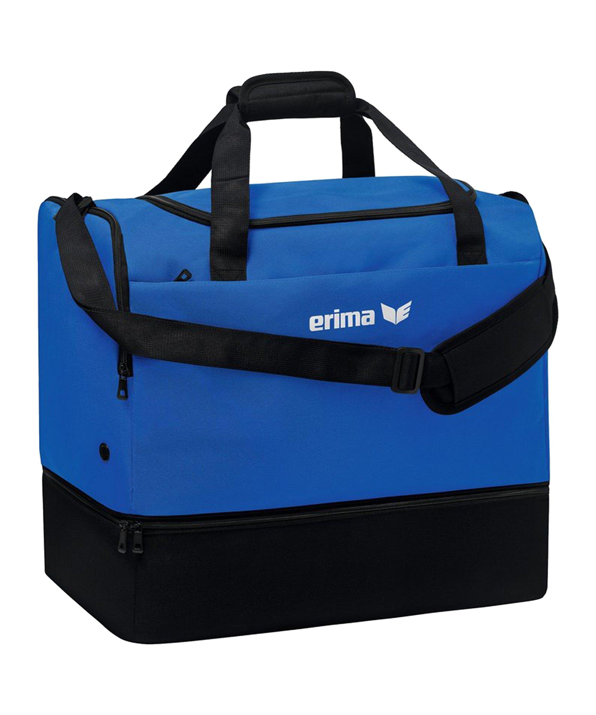 Erima TEAM Sporttasche Gr.M Blau - blau