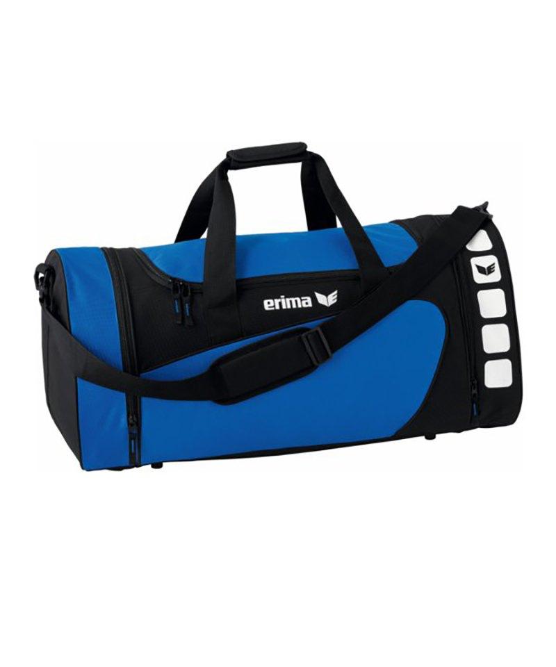 Erima Sporttasche Club 5 Blau Schwarz Gr. M - blau