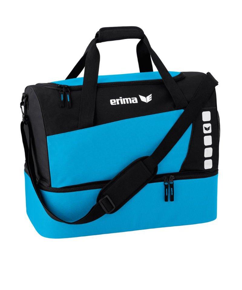 Erima Sporttasche mit Bodenfach Club 5 Blau Gr. S - blau