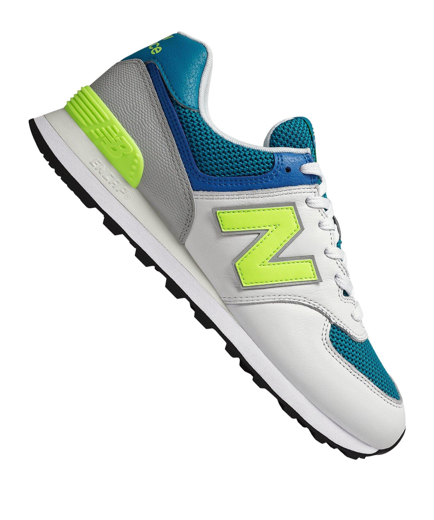 New Balance ML574D Sneaker Weiss F022 - weiss
