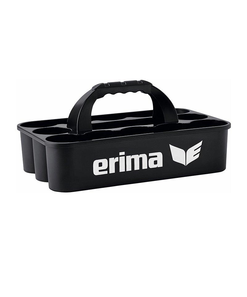 Erima Flaschenträger Schwarz - schwarz