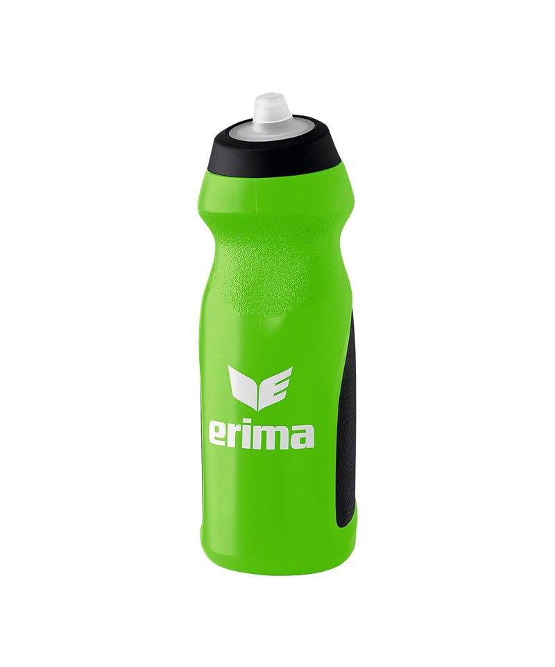 Erima Trinkflasche 700ml Grün Schwarz - gruen