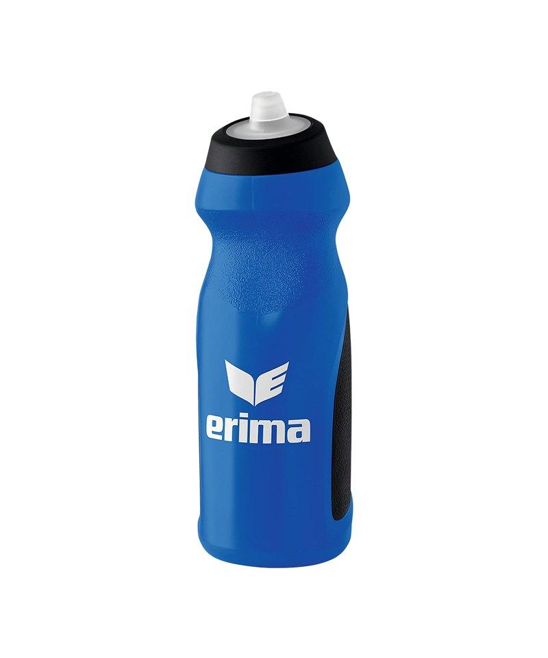 Erima Trinkflasche 700ml Blau Schwarz - blau