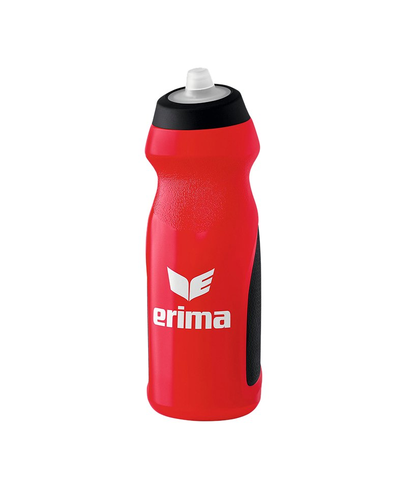 Erima Trinkflasche 700ml Rot Schwarz - rot