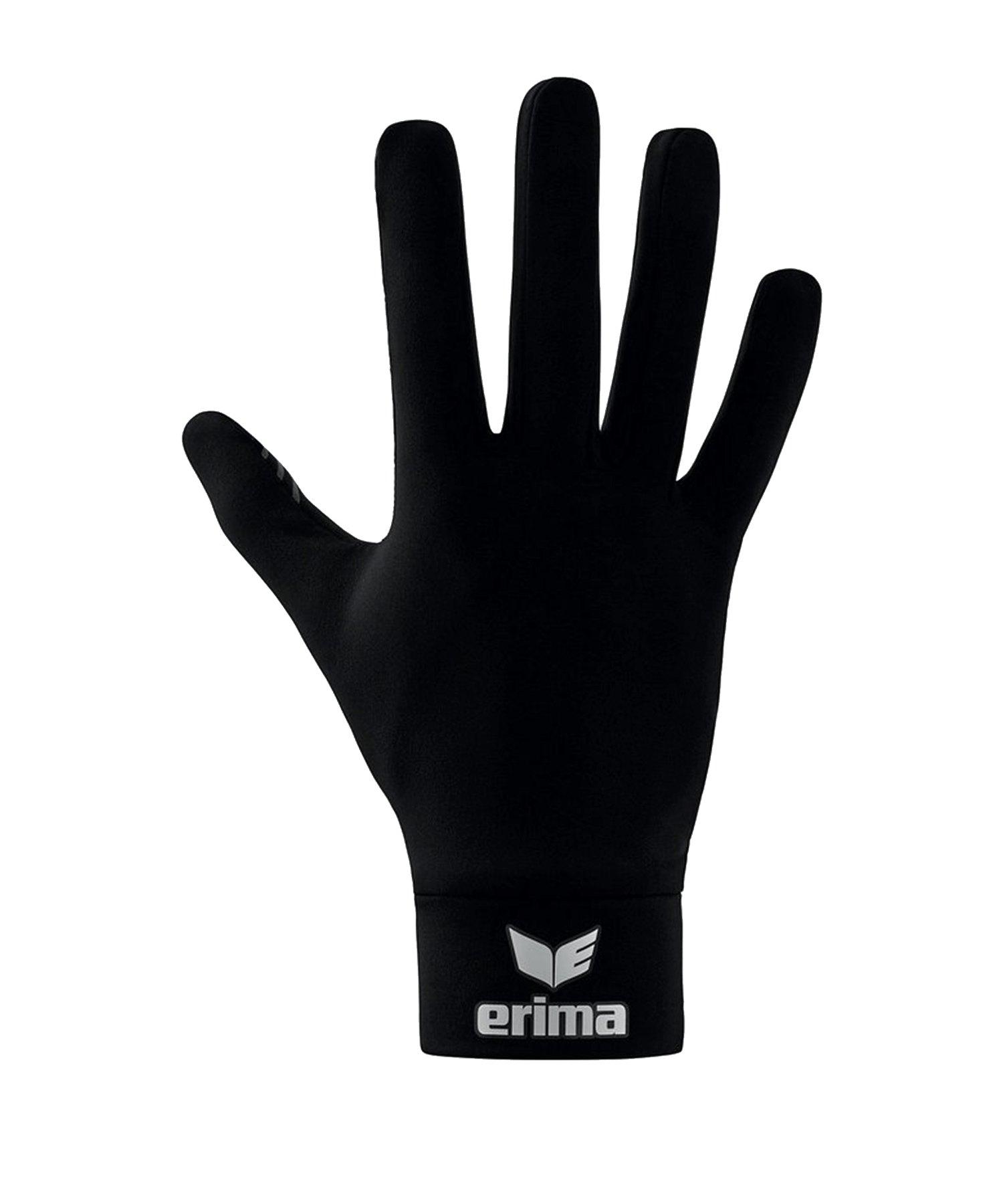 Erima Functional Feldspielerhandschuh Schwarz - schwarz