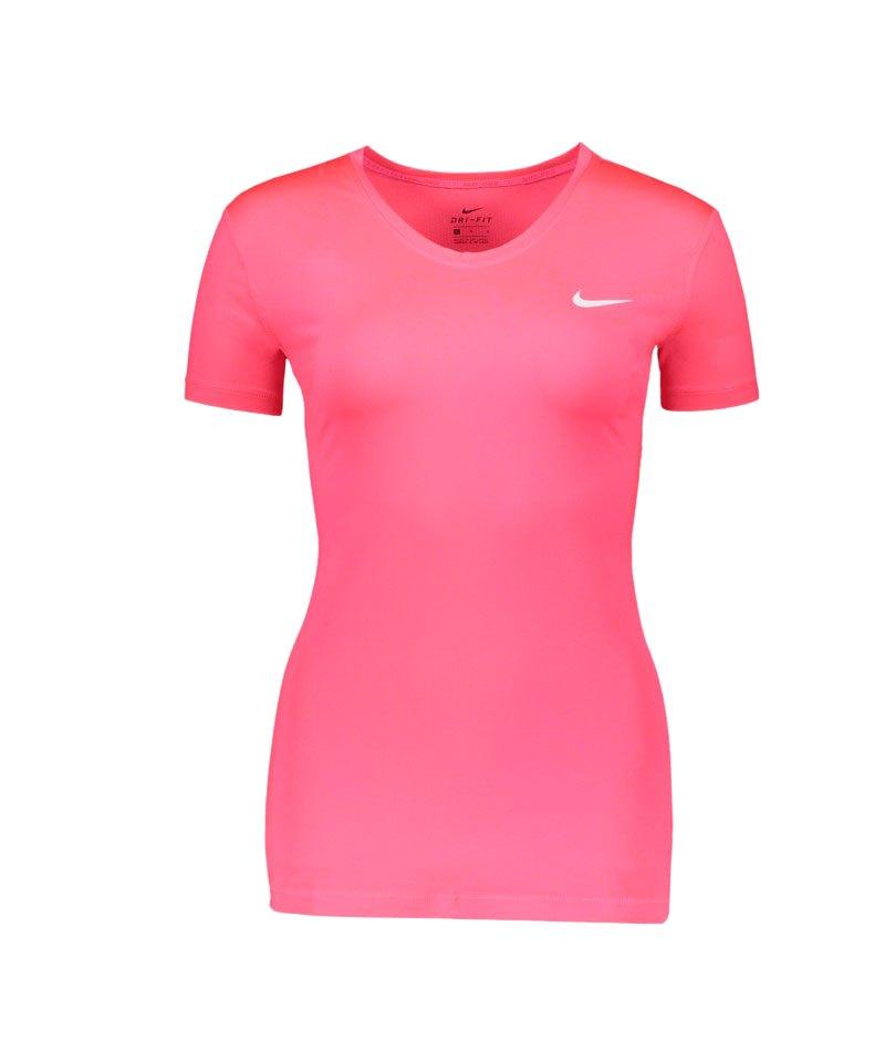Nike Pro Shortsleeve Shirt Damen Pink F617 - pink