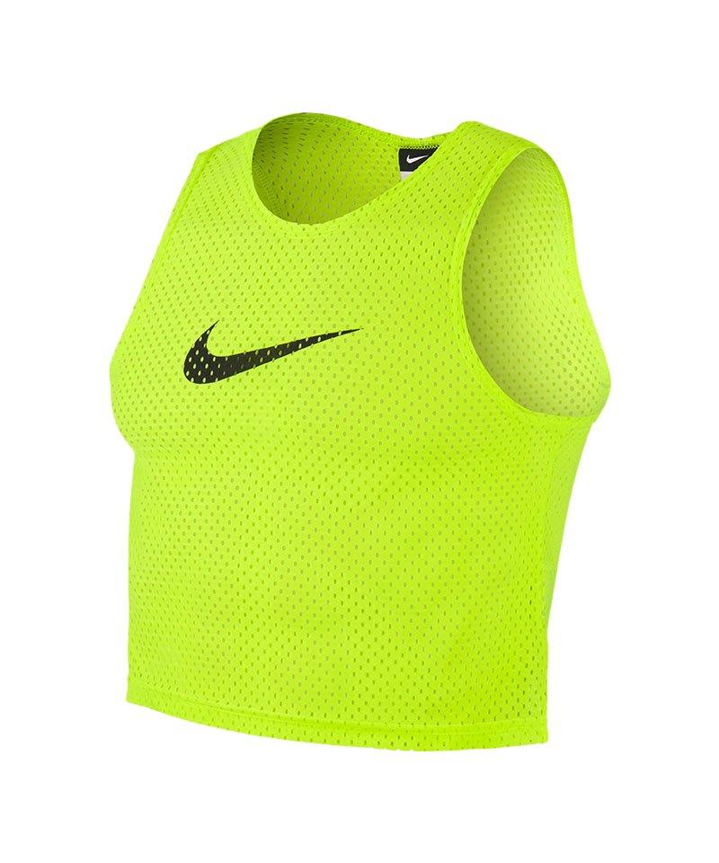 Nike Training BIB Kennzeichnungshemd Gelb F702 - gelb