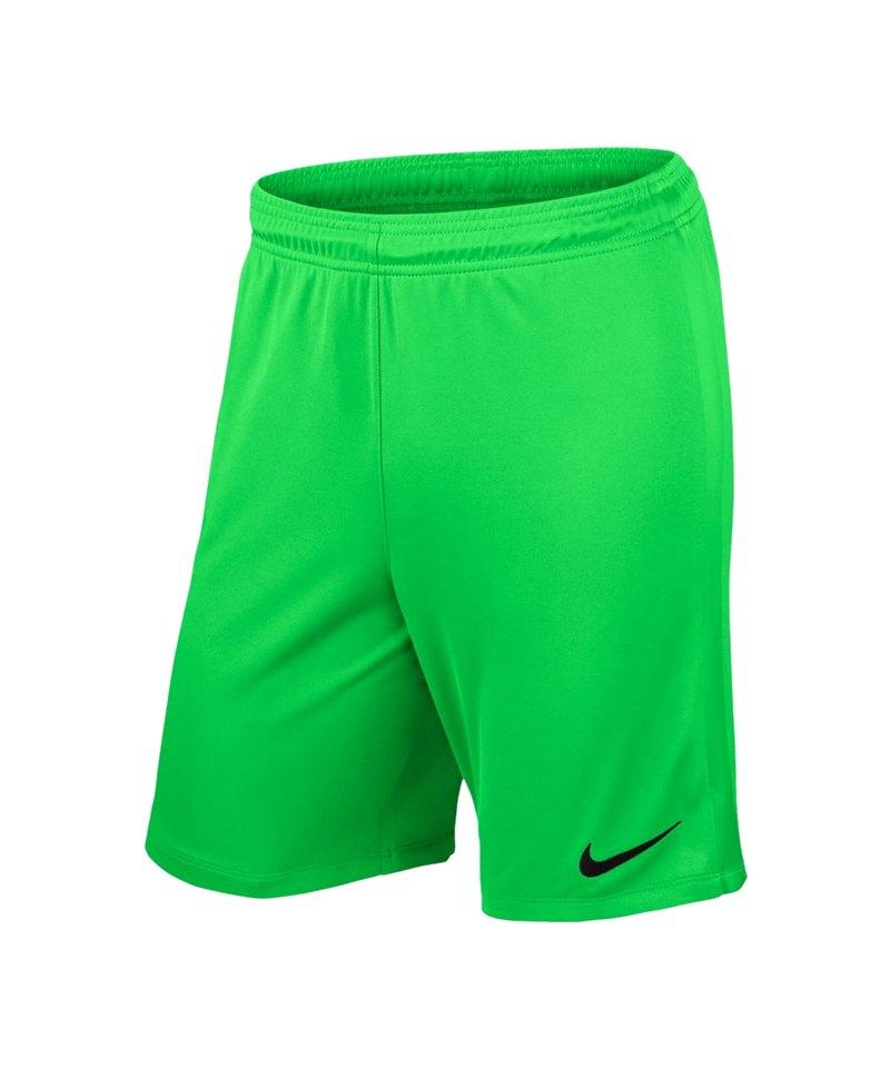 Nike League Knit Short ohne Innenslip Grün F398 - gruen
