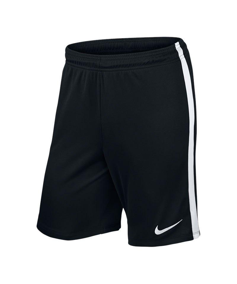 Nike Short ohne Innenslip League Knit F010 Schwarz - schwarz
