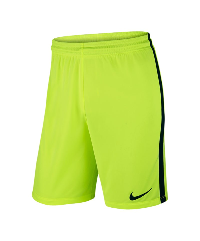 Nike Short ohne Innenslip League Knit F702 Gelb - gelb