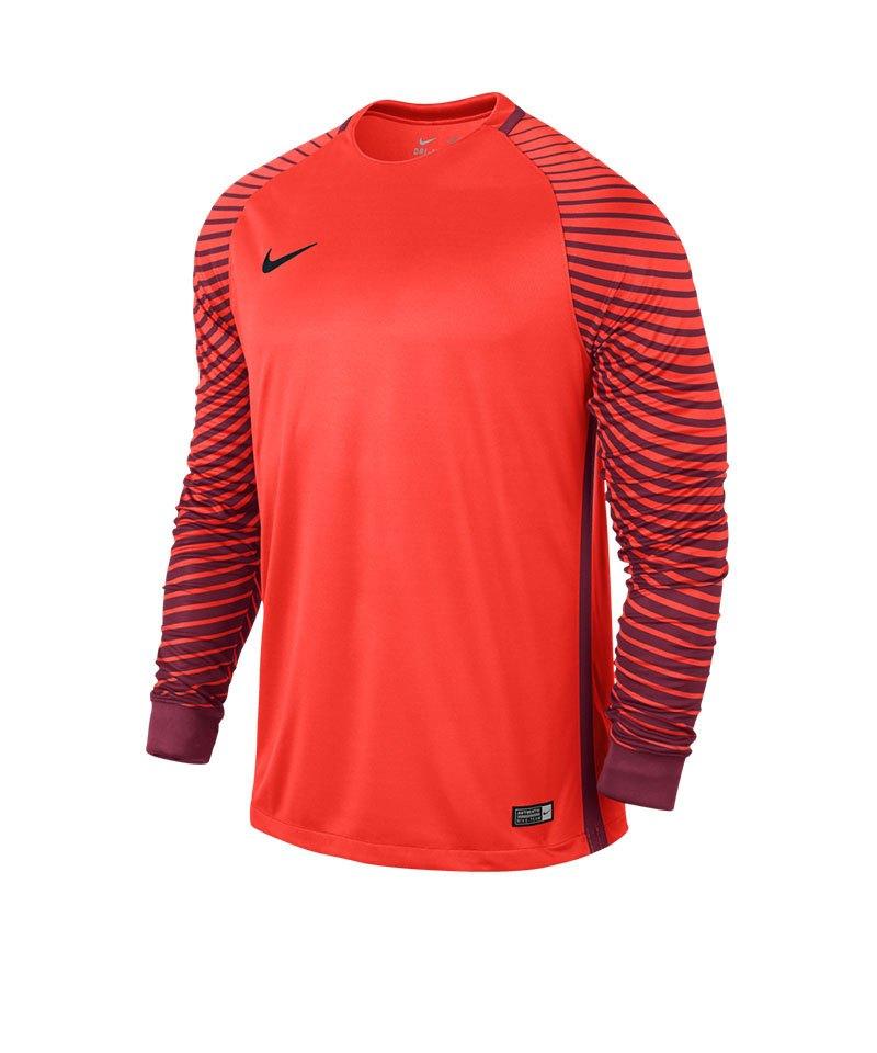 Nike Langarm Trikot Gardien F671 Orange - orange