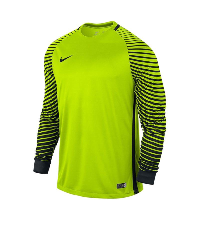 Nike Langarm Trikot Gardien F702 Gelb - gelb