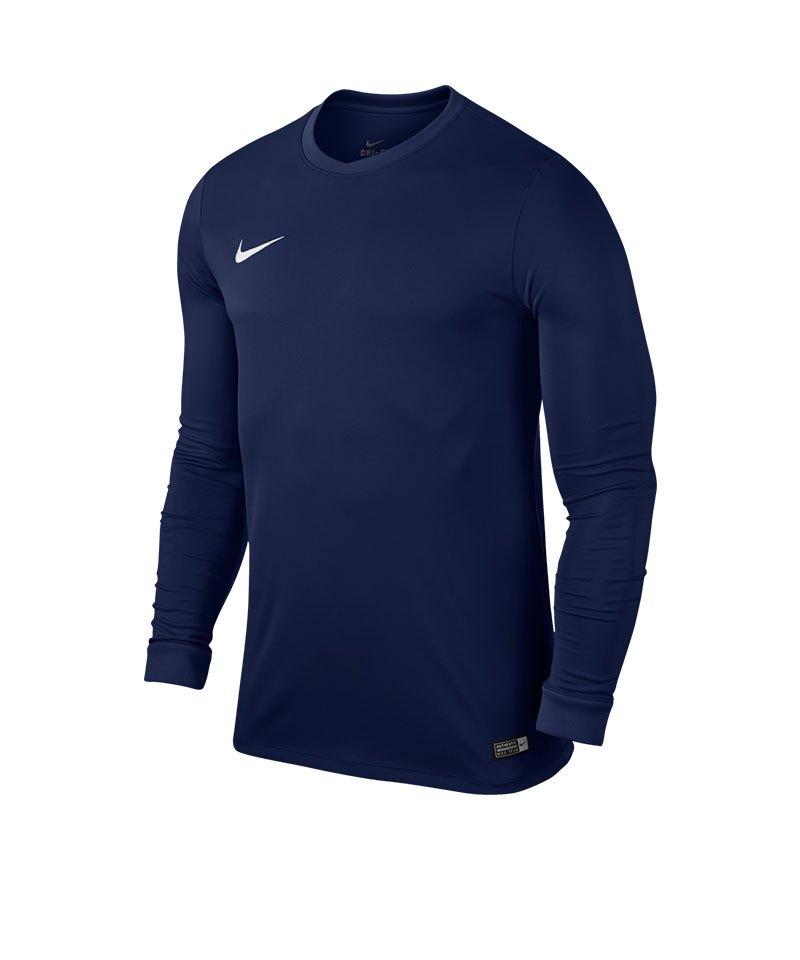 Nike Langarm Trikot Park VI F410 Dunkelblau - blau