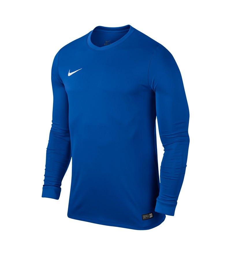 Nike Langarm Trikot Park VI F463 Blau - blau