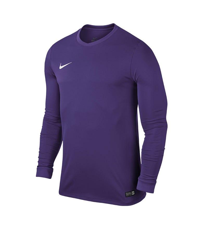 Nike Langarm Trikot Park VI F547 Lila Weiss - lila