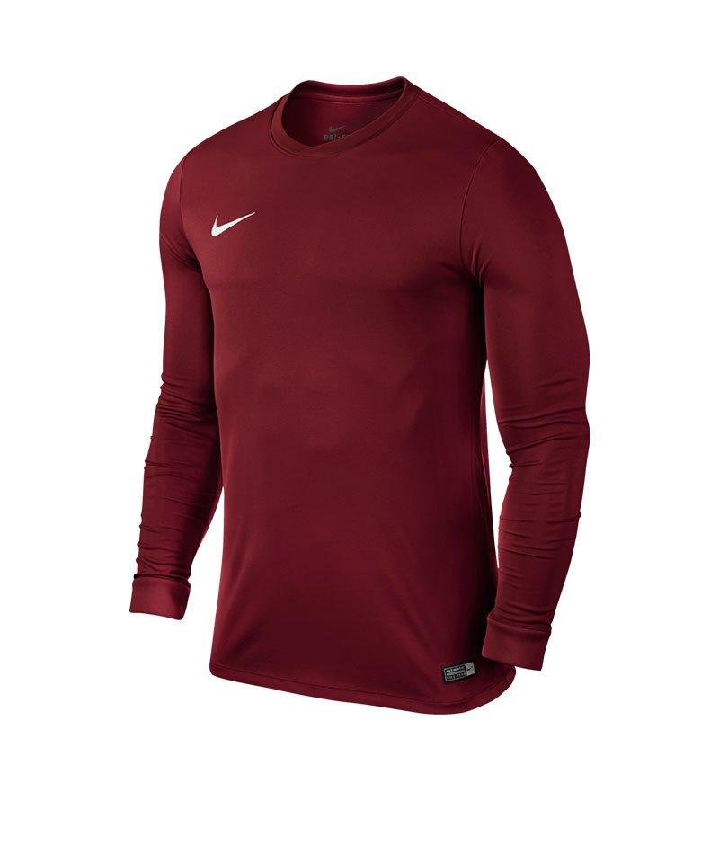 Nike Langarm Trikot Park VI F677 Dunkelrot - rot