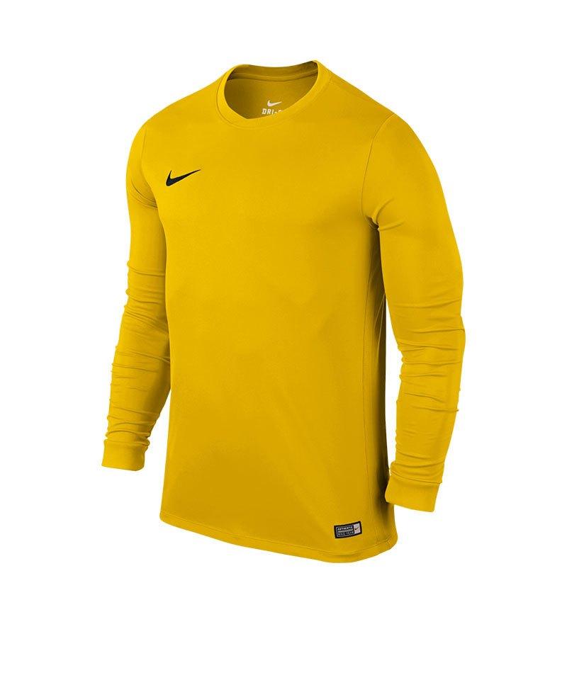 Nike Langarm Trikot Park VI F739 Gelb - gelb