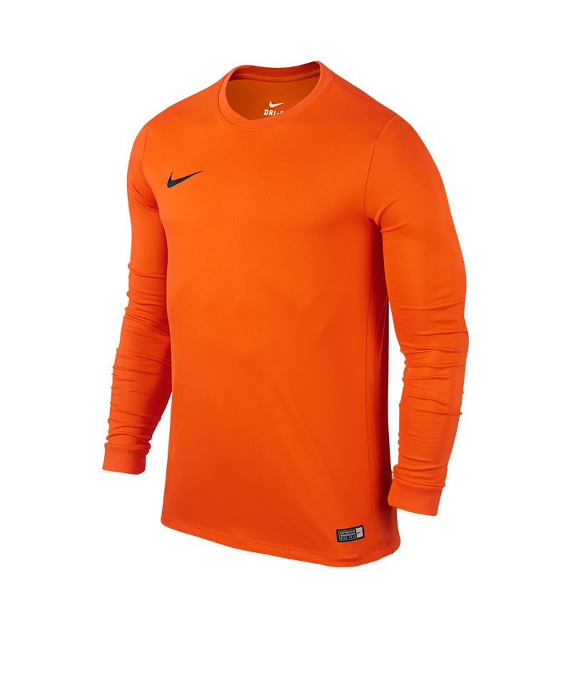 Nike Langarm Trikot Park VI F815 Orange - orange