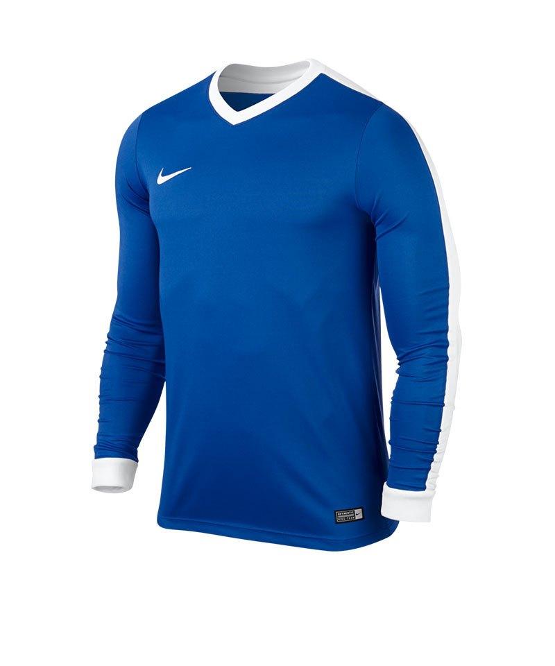 Nike Langarm Trikot Striker IV F463 Blau Weiss - blau