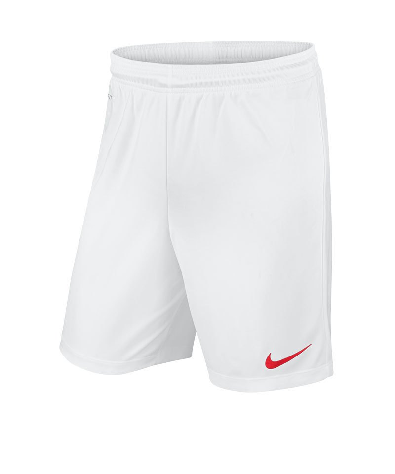 Nike Short ohne Innenslip Park II F102 Weiss - weiss