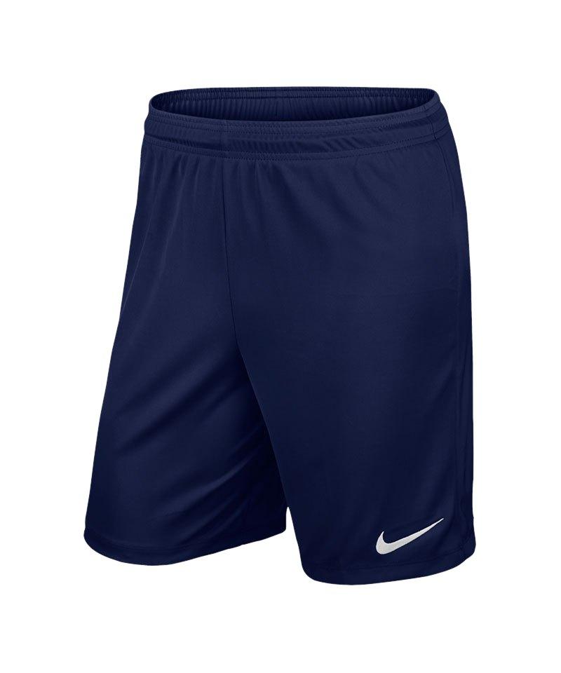 Nike Short ohne Innenslip Park II F410 Blau - blau