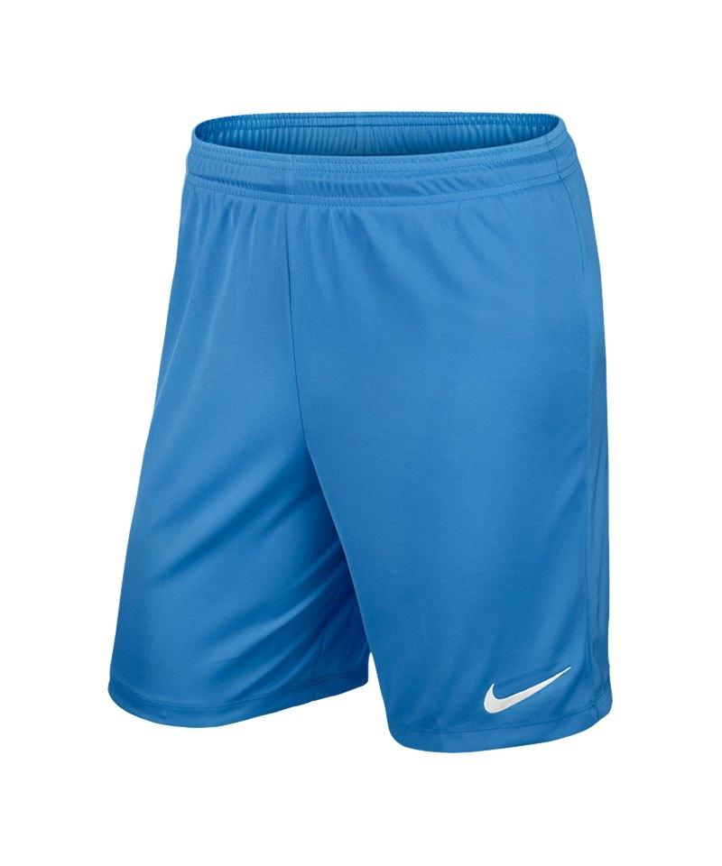 Nike Short ohne Innenslip Park II F412 Hellblau - blau