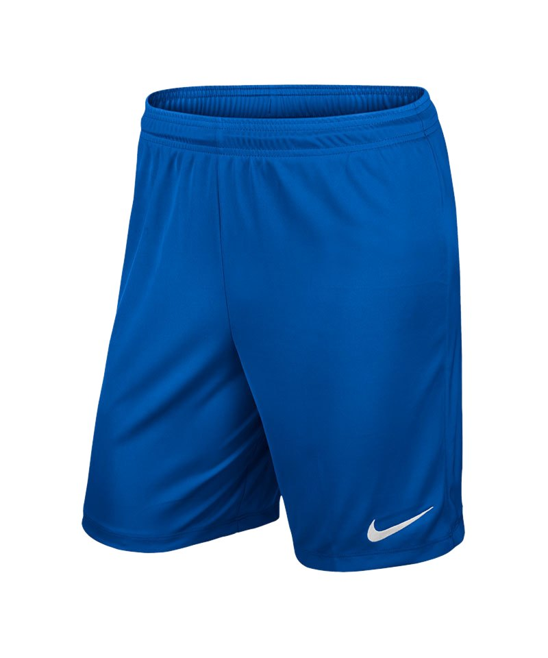 Nike Short ohne Innenslip Park II F463 Blau - blau