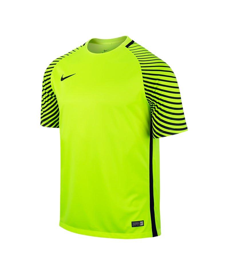 Nike Kurzarm Trikot Gardien F702 Gelb - gelb