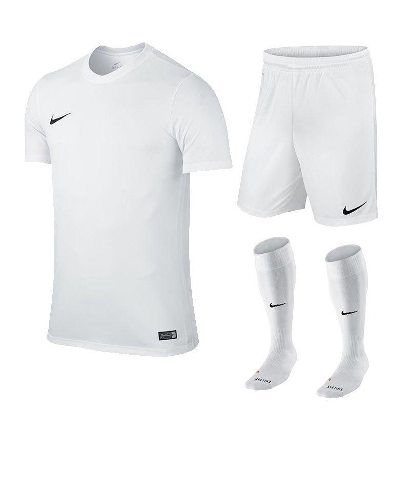 Nike Herren Trikot Park VI kurzarm Sport T Shirt 725891 100 weiß, Größe:L