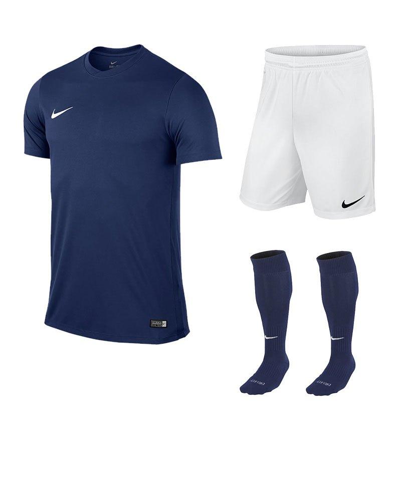 Nike Park VI Trikotset kurzarm F410 Dunkelblau - blau