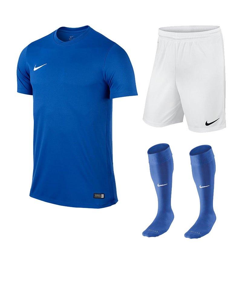 Nike Park VI Trikotset kurzarm F463 Blau - blau