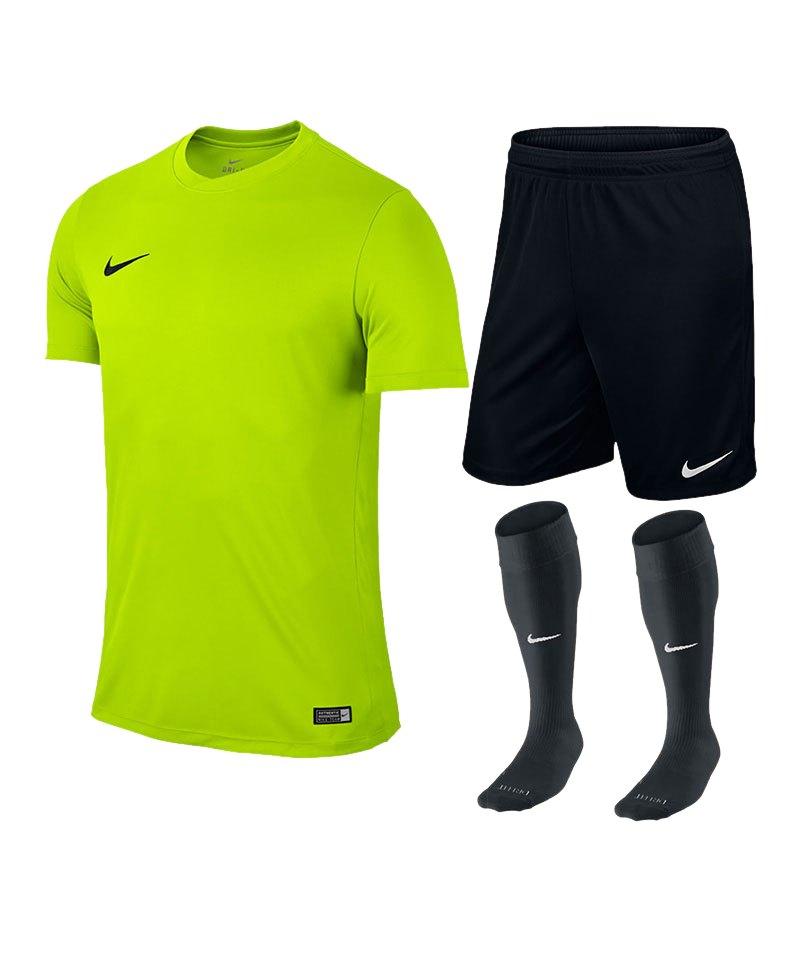 Nike Park VI Trikotset kurzarm F702 Gelb - gelb