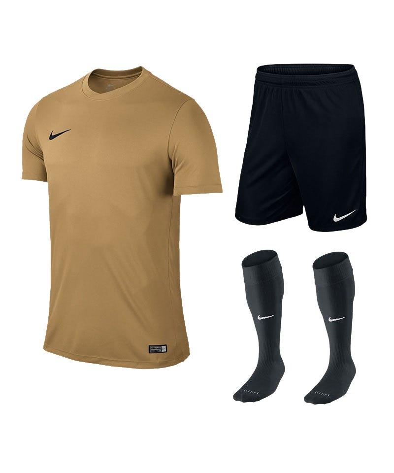 Nike Park VI Trikotset kurzarm F738 Gold - gold