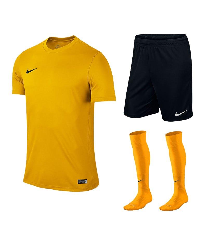 Nike Park VI Trikotset kurzarm F739 Gelb - gelb