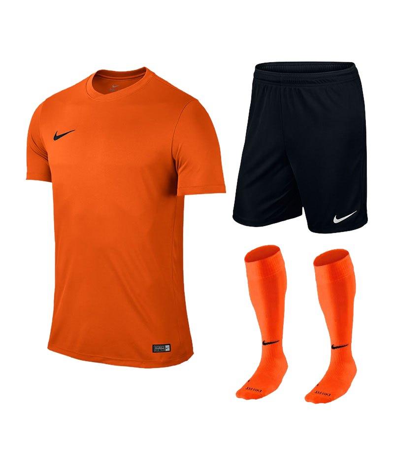 Nike Park VI Trikotset kurzarm F815 Orange - orange