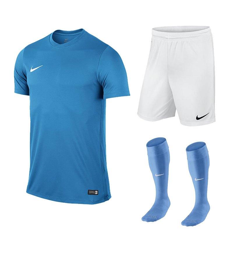 Nike Park VI Trikotset kurzarm Hellblau F412 - blau