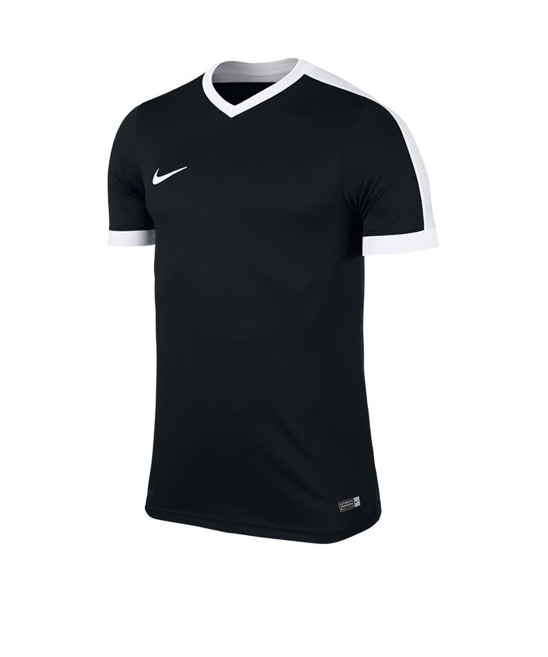 Nike Kurzarm Trikot Striker IV F010 Schwarz Weiss - schwarz