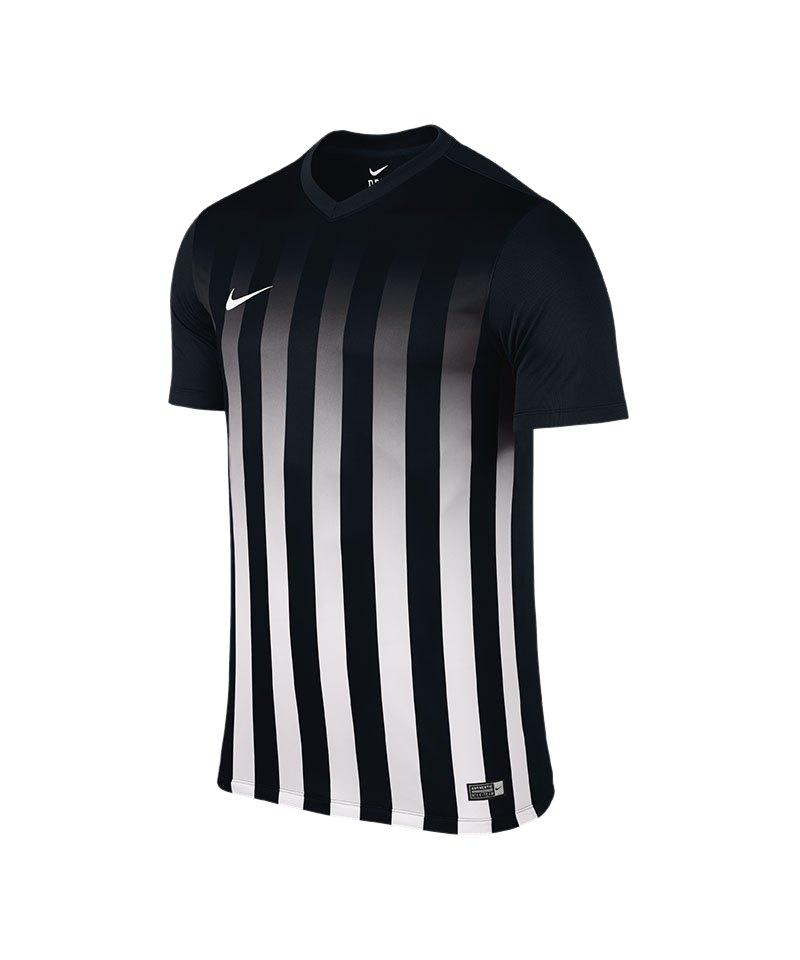 Nike Kurzarm Trikot Striped Division II F010 - schwarz