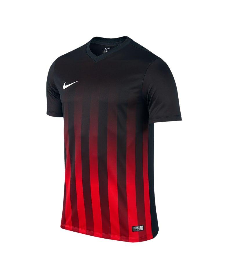 Nike Kurzarm Trikot Striped Division II F012 - schwarz