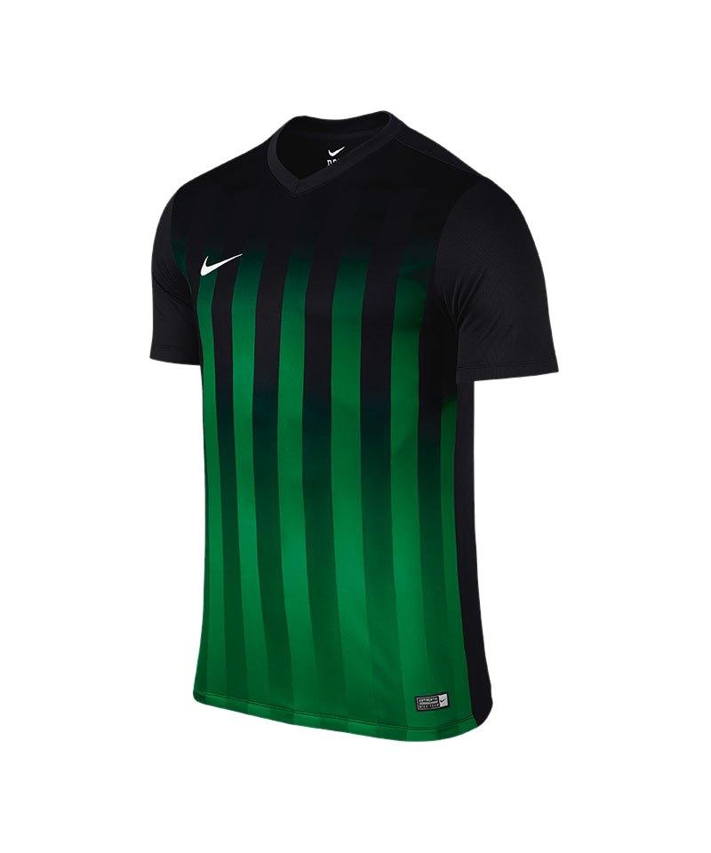 Nike Kurzarm Trikot Striped Division II F013 - schwarz