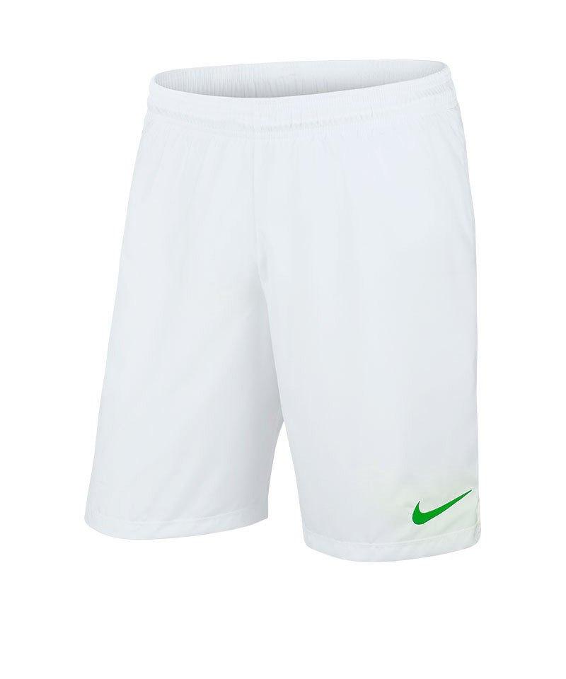 Nike Short ohne Innenslip Laser III F102 Weiss - weiss