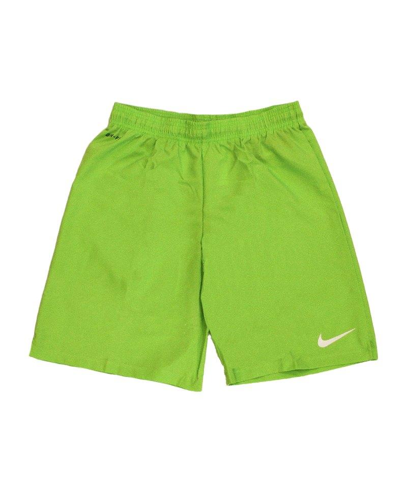 Nike Short ohne Innenslip Laser III F313 Grün - gruen