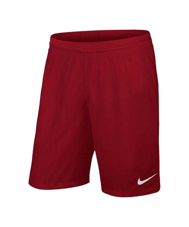 Nike Short ohne Innenslip Laser III F677 Dunkelrot - rot