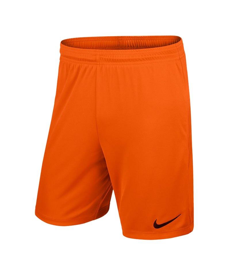 Nike Short mit Innenslip Park II F815 Orange - orange