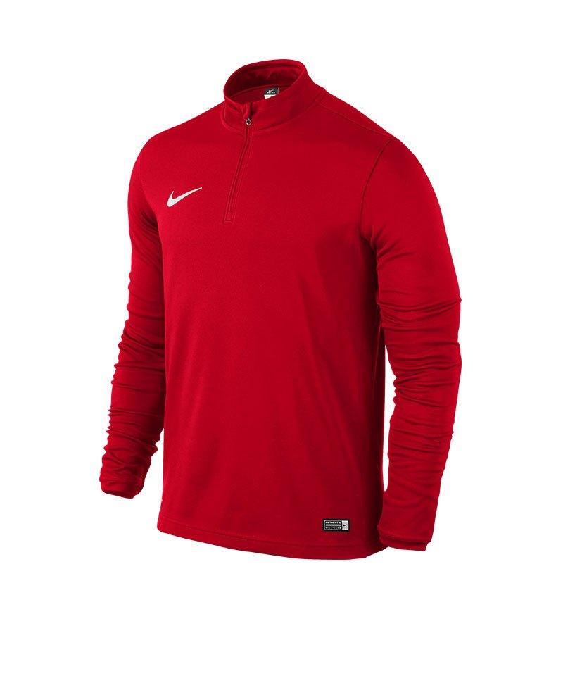 Nike Academy 16 Zip Sweatshirt F657 Rot - rot